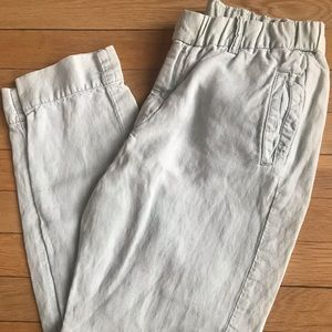 J Crew beach pants size 4